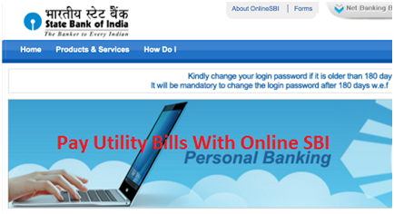 Pay Utility Bills with the Help of Online SBI Mobile Banking/Debit Card