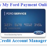 My Ford Credit Account Manager Login – Pay Bill Online