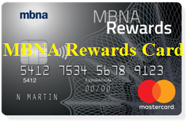 MBNA Rewards Card Login