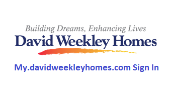 My David Weekley Homes Sign In