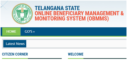 OBMMS Apply Online Telangana: Tsobmms.cgg.gov.in Register