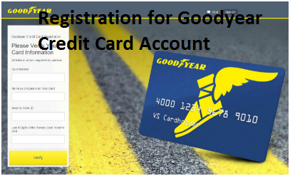 Sign up Goodyear Credit Card Account