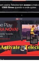 Telecine Play Login e Senha Gratis: www.telecineplay.com.br Activate