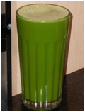 Broccoli Green Apple Juice