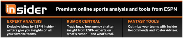 Activate ESPN The Magazine Insider Accounts