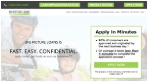 Apply for the Big Picture Loans