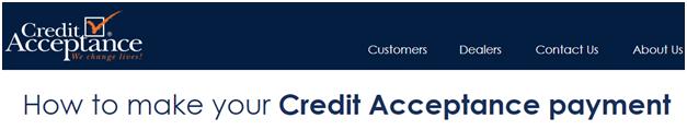 Credit Acceptance Online