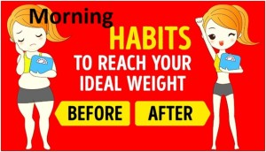 Early Morning Habits to Lose Weight