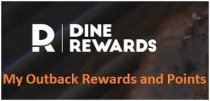 My Outback Dine Rewards Login