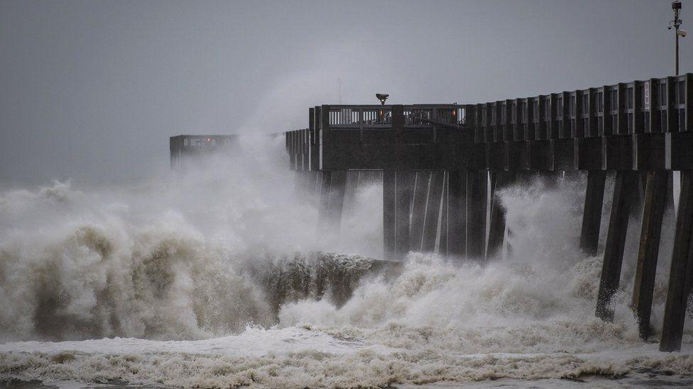 hurricane michael 2018 live picture 4