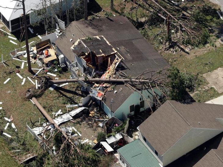 hurricane michael florida damage photo 12