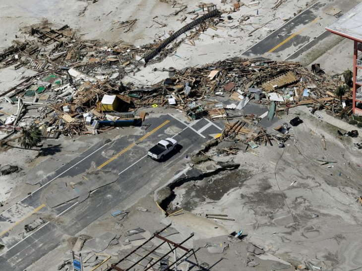 mexico beach hurricane michael damage photos 11