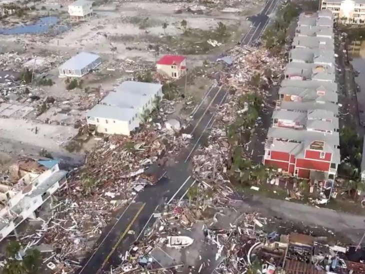 mexico hurricane michael damage photos 9