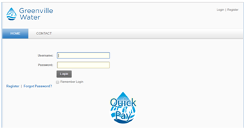 Payments.greenvillewater.com - Greenville Water Quick Pay