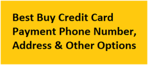 My Best Buy Pay My Bill Online