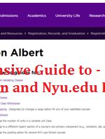 Comprehensive Guide to – NYU Albert Registration and Nyu.edu Classes Log In