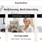 About TampaBay.com e-Newspaper Subscription: Renewal & Online Deals