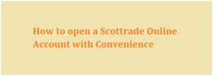 Scottrade Secure Account Login