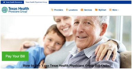 Texas Health Physicians Group Online Payment Portal & Billing Phone Number