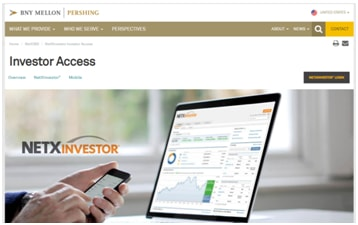 Pershing Brokerage Account: Advisor.netxinvestor.com Sign In
