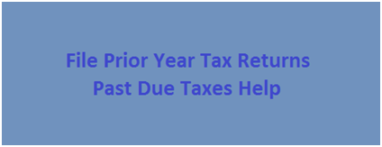 File Prior Year Tax Returns