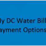 How to Paying your 'My DC Water Bill' – Payment Options