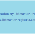 Registration My Liftmaster Product
