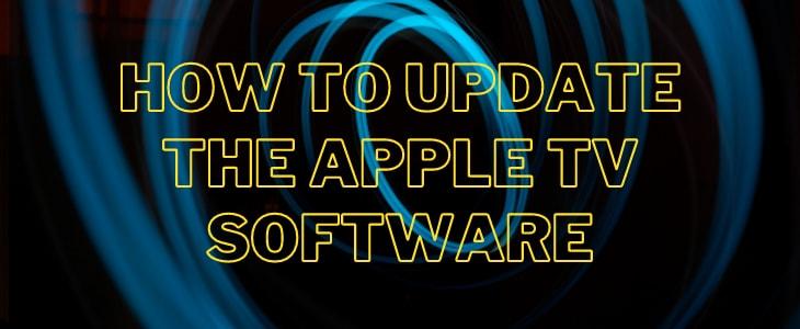 Apple TV software update